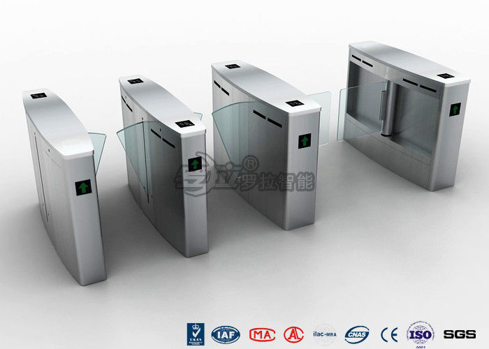 Controlled Access Automatic Systems Turnstiles Full Height For Subway Station