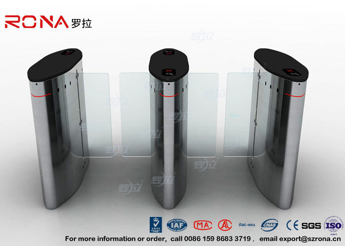 304 Stainless Steel Sliding Barrier Gate Turnstile 12V DC For Traffic System