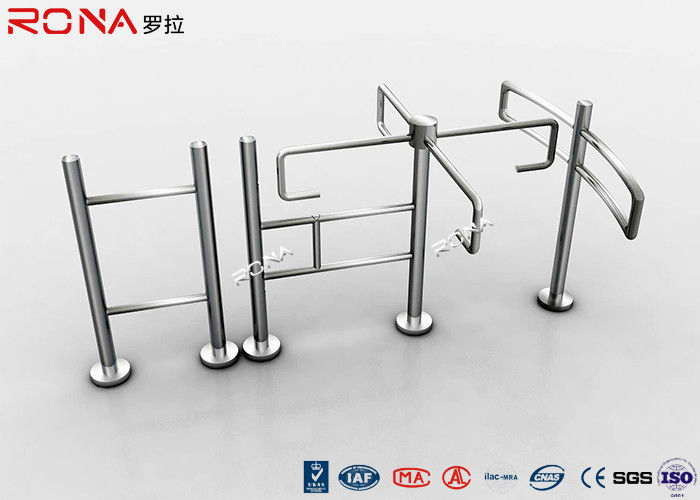 RFID Half Height Automatic Systems Turnstiles Electronic Mechanism 30 Persons / Minute