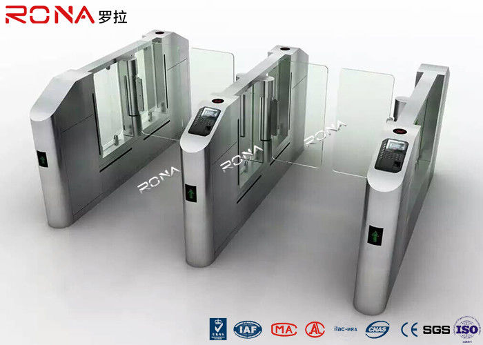 Electronic Turnstile RFID Pedestrian Barrier Gate , Turnstile Security Systems