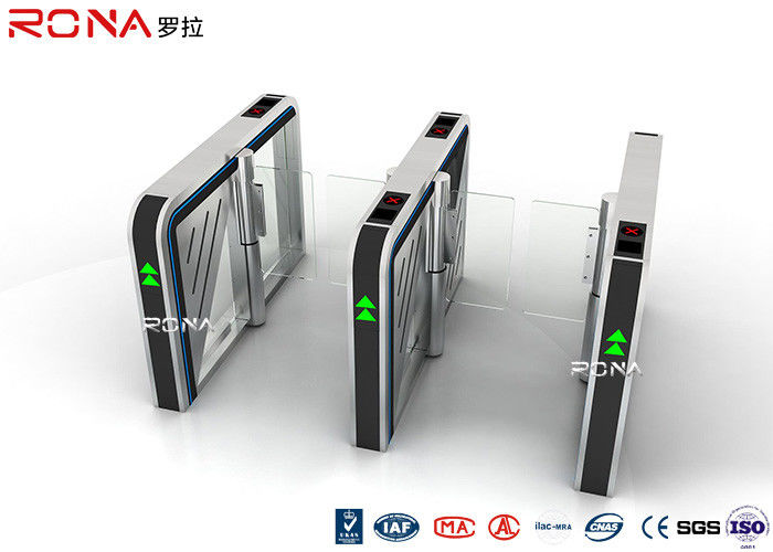 Servo Driving Motor Speed Gate Turnstile Access Control High Intelligent Speed Gate Card